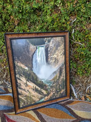 Fine art photography, framed art, Yellowstone Falls for Sale in Ontario, CA