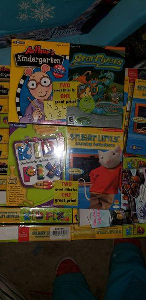 Arthur, stuart little, kid fix,star flyers game for Sale in Reynoldsburg, OH