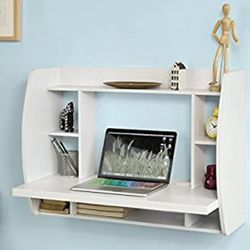 Mounted Table Desk (WHITE) for Sale in Hyattsville,  MD