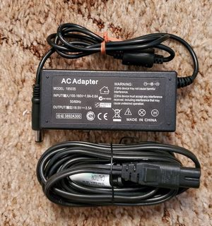 185035 HP 18.5V 3.5A 65W Laptop Charger AC Adapter Power Cord for Sale in San Diego, CA