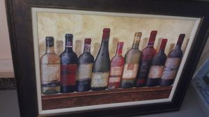 Wine bottle paintings home decoration for Sale in Newark, CA