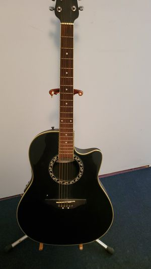 Ovation acoustic electric for Sale in Waterbury, CT