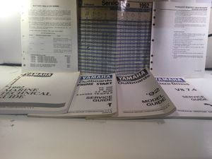 Yamaha marine outboard manuals & guide book for Sale in Gravois Mills, MO