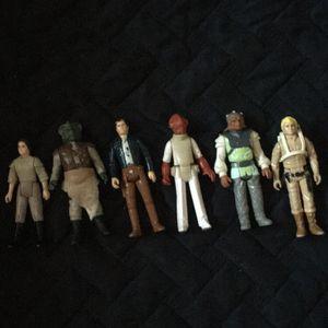 Vintage 1980s Star Wars Figures for Sale in Galt, CA