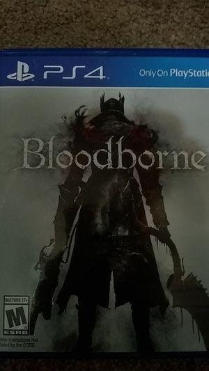 PlayStation 4 BloodBorne for Sale in Millbrook, AL