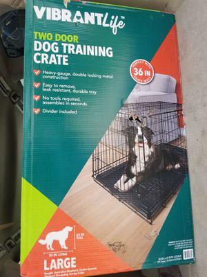 Two Door Dog Crate brand new for Sale in Stockbridge, GA