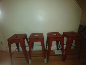 4 Bar stools for Sale in Baltimore, MD