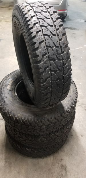 Set of 4 snow tires LT245/75r16 for Sale in Lynnwood, WA
