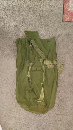 G.I. military duffle bag for Sale in Ephrata, WA