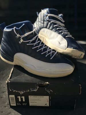 Air Jordan Retro 12 French Blue Obsidian 2012 Size 11 Men Used for Sale in Los Angeles, CA