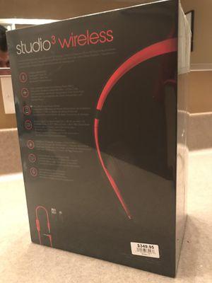 Beats studio 3 wireless headphones for Sale in Yorkville, IL