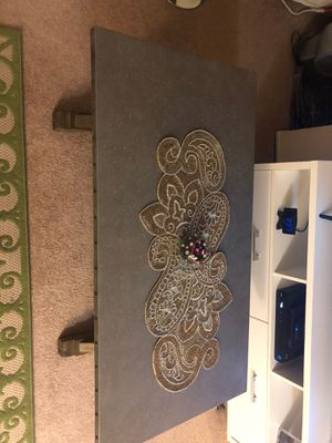 Coffee table Metal finish for Sale in Fremont, CA