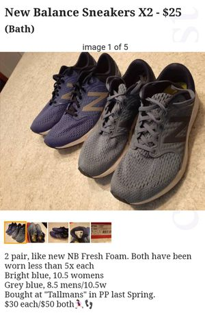 Womens New Balance for Sale in Bath, NY