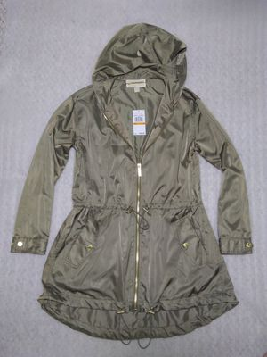 Michael Kors rain jacket. Size S women's. Green. Brand new with tags. Retail $160 for Sale in Portsmouth, VA