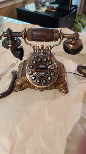 Antique Rotary Dial Telephone for Sale in San Antonio, TX