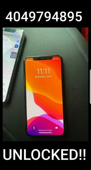 Unlocked iPhone X 256GB for Sale in Atlanta, GA