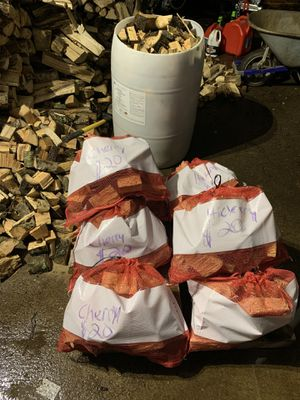 Bagged smoking wood for Sale in Belmont, NC