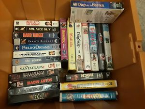 VHS lot over 40 Disney Scooby Batman Toy Story for Sale in Las Vegas, NV