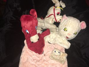🙀Old Stuffed Animals🙀 Set of 4 = $10 for Sale in Scottsdale, AZ