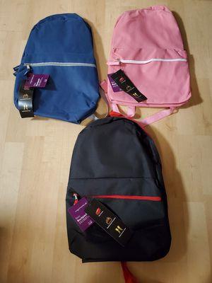 3 New Backpacks All for 20.00 for Sale in Virginia Beach, VA