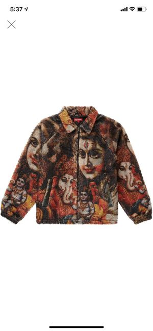 Supreme Ganesh Faux Fur Jacket Size XL for Sale in Los Angeles, CA