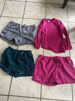 Female kids clothing top and shorts bundle XL for Sale in Whittier, CA