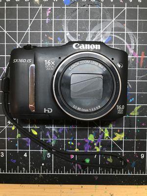Canon PowerShot SX160 IS for Sale in Spokane, WA