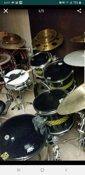 DRUM SET need gone asap!! for Sale in St. Louis, MO