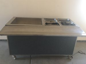 Food table hot and cold 110 electric for Sale in Phoenix, AZ