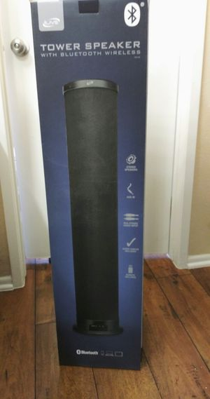 Ilive Tower Speaker Bluetooth Wireless for Sale in Palmdale, CA