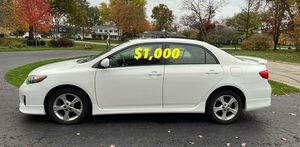Price$1000 URGENT Selling my 2012 Toyota Corolla for Sale in Suisun City, CA