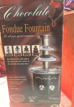 Chocolate fondue fountain for Sale in Eugene, OR