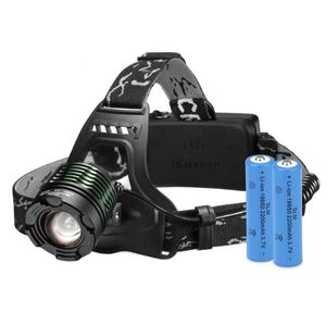High Power Headlamp Rechargeable LED Lamp with 4 Light Modes, 2 Rechargeable Batteries included for Sale in Ontario, CA