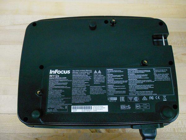 InFocus IN112a Projector