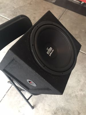 Polk audio subwoofer with box for Sale in Fullerton, CA