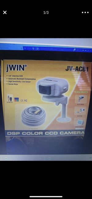 Jwin JV-AC81 DSP COLOR CCD CAMERA for Sale in San Diego, CA