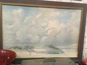 Vintage seashore wall art for Sale in San Diego, CA