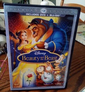 Beauty and the beast disney Blu-ray DVD combo pack for Sale in Fresno, CA