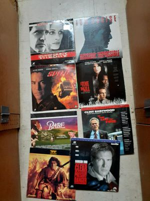 30 laserdisc lots all 50 for Sale in Fort Lauderdale, FL