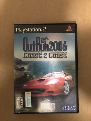Outrun 2006 Coast 2 Coast (PS2) for Sale in Columbus, OH
