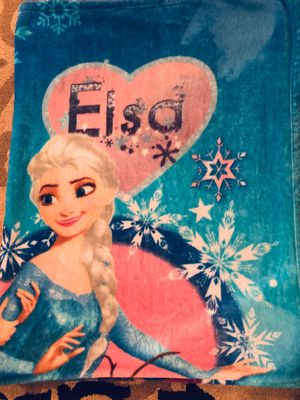 Frozen full size blanket for Sale in Lynnwood, WA