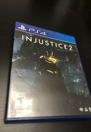 Injustice 2 ps4 for Sale in Union City, NJ