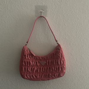 Prada Nylon and Saffiano Leather Bag (pink) for Sale in Fullerton, CA