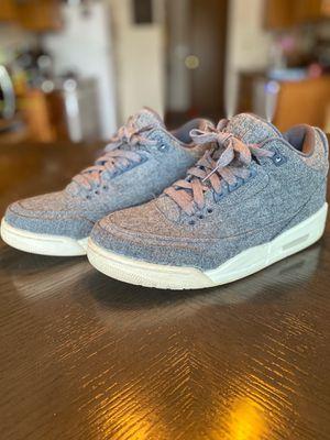 Jordan 3 Retro Wool for Sale in Tacoma, WA