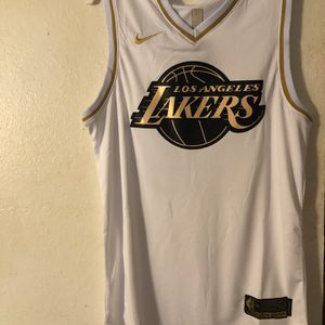 White Home Lakers LeBron James Nba Jersey for Sale in Bellevue, WA