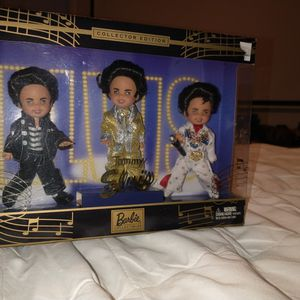 COLLECTION MINI ELVIS PRESLEY BARBI COLLECTOR EDITION NEW !!! ASKING $18.00 ONLY !! for Sale in Phoenix, AZ
