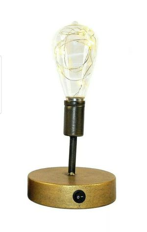 Retro Edison Style Table Lamp – Vintage Industrial Table Lamp for Sale in Island Lake, IL