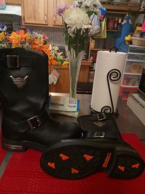 Harley Davidson boots. for Sale in Liberty Hill, TX