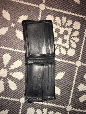 Plain black wallet for Sale in Tampa, FL