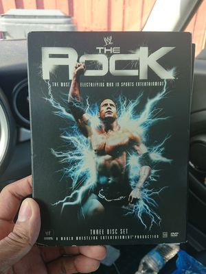 The Rock: The Most Electrifying Man DVD for Sale in Pembroke Pines, FL